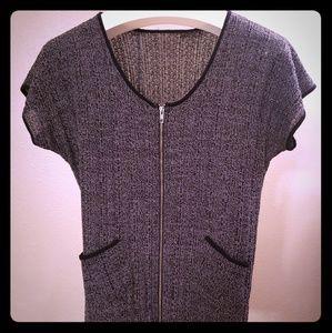 Women's short sleeve cardigan